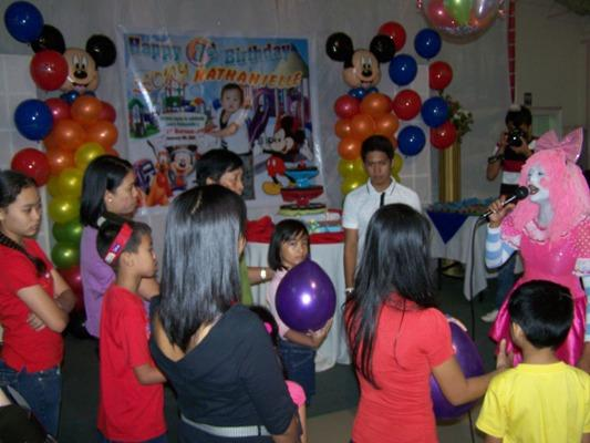 Celebration on the Christening and 1st Birthday of Leory Nathanielle on Jan. 8, 2011 event picture at Linmarr Davao Hotels and Apartelles. It's more FUN in the PHILIPPINES