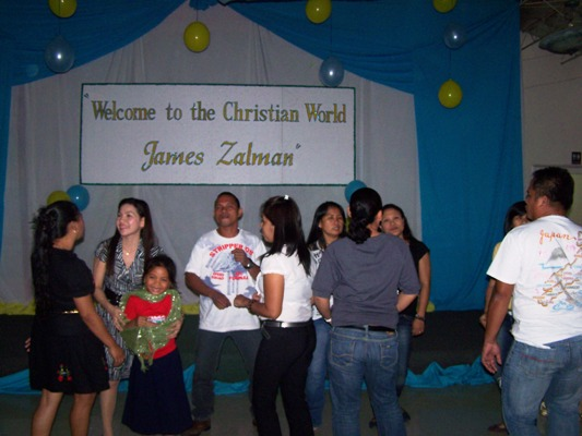 Celebration on the Christening of James Zalman Jan. 3, 2012 event picture at Linmarr Davao Hotels and Apartelles. It's more FUN in the PHILIPPINES