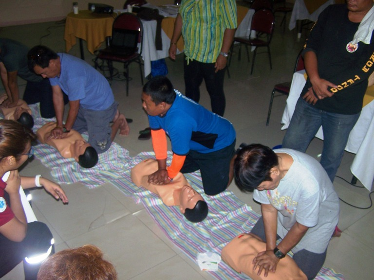 FIRST AID AND BASIC LIFE SUPPORT ENHANCEMENT TRAINING (BDRRMC) Sept. 3-7 2016  event picture at Linmarr Davao Hotels and Apartelles. It's more FUN in the PHILIPPINES