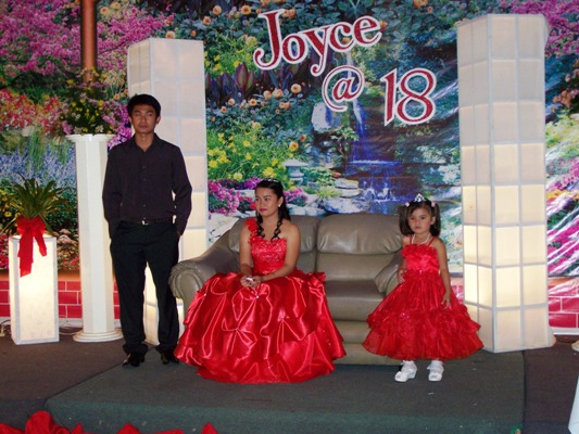 Joyce Debut December 22, 2011 Event picture at Linmarr Davao Hotels and Apartelles. It's more FUN in the PHILIPPINES