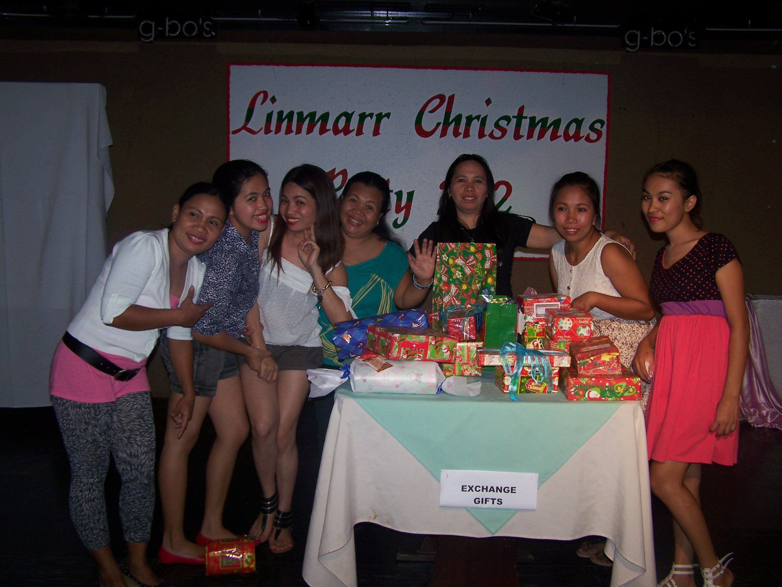 Linmarr Christmas Party Dec. 29, 2012 photo gallery at Linmarr Davao Hotels and Apartelles. It's more FUN in the PHILIPPINES