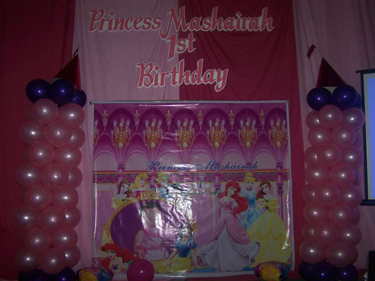 Princess Mashaira 1st Birthday Party February 1, 2014 event picture at Linmarr Davao Hotels and Apartelles. It's more FUN in the PHILIPPINES