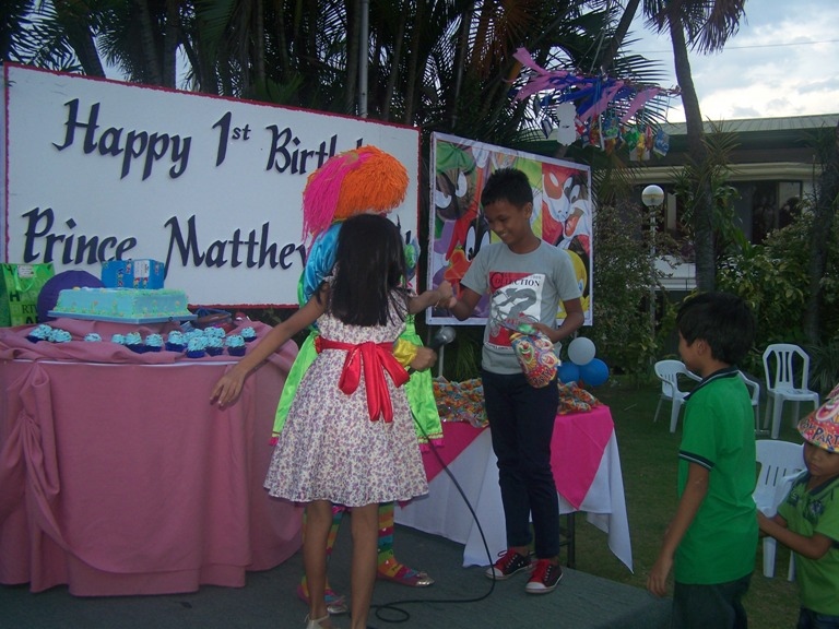 Prince Matthew Diel 1st Birthday Party September 10, 2014 event picture at Linmarr Davao Hotels and Apartelles. It's more FUN in the PHILIPPINES
