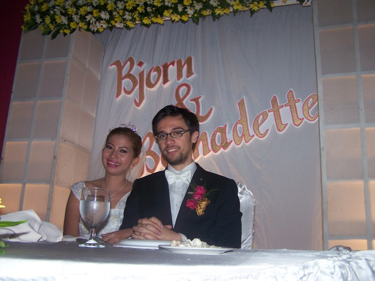 The Wedding Reception of Bjorn and Bernadette July 15, 2014 photo gallery at Linmarr Davao Hotels and Apartelles. It's more FUN in the PHILIPPINES. It's more FUN in the PHILIPPINES