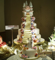 Linmarr Davao Wedding Cake: Image of a wedding cake by Tsokolate